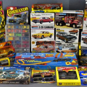 Online Only Live Vintage Model Kits And Die Cast