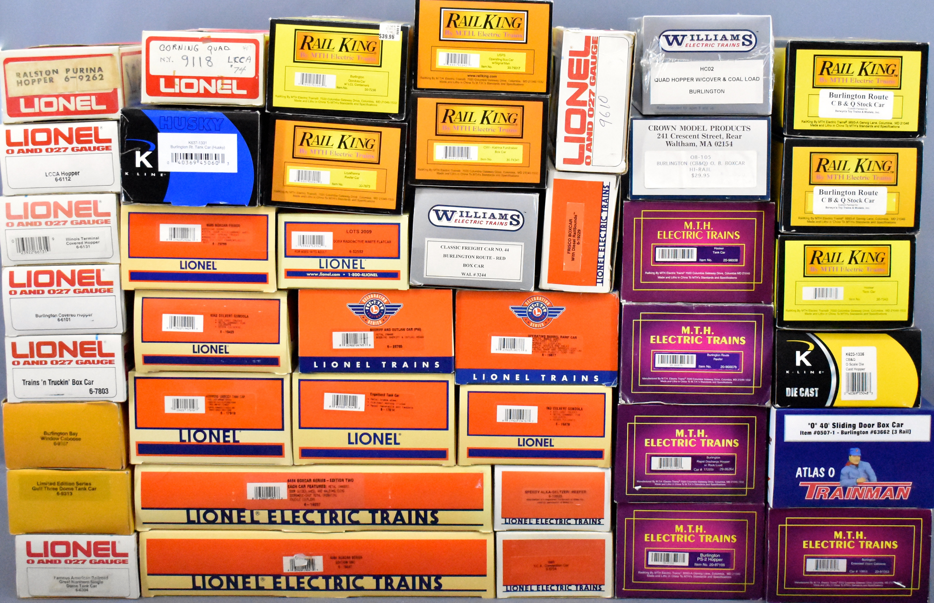 Lionel HO And O Gauge Trains And Parts Plus O Scale