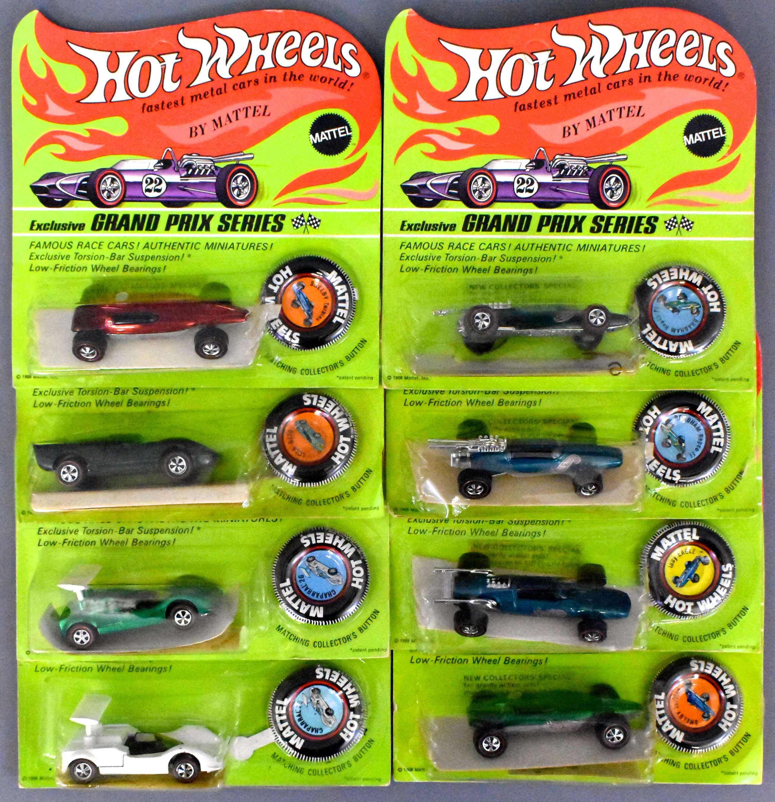 Fantastic Redline Hot Wheels Pressed Steel And Die Cast Toys