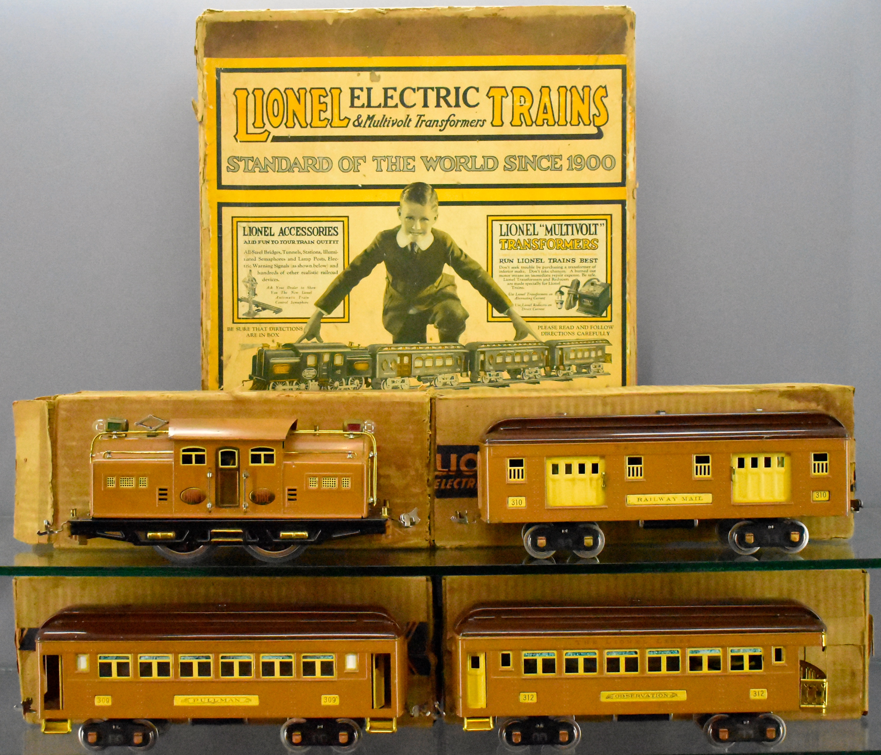 Vintage Trains And Accessories HO Through Standard Gauge