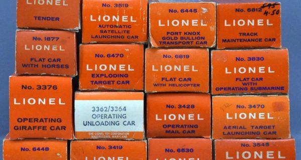 Postwar Lionel Trains And Accessories Plus Modern Era