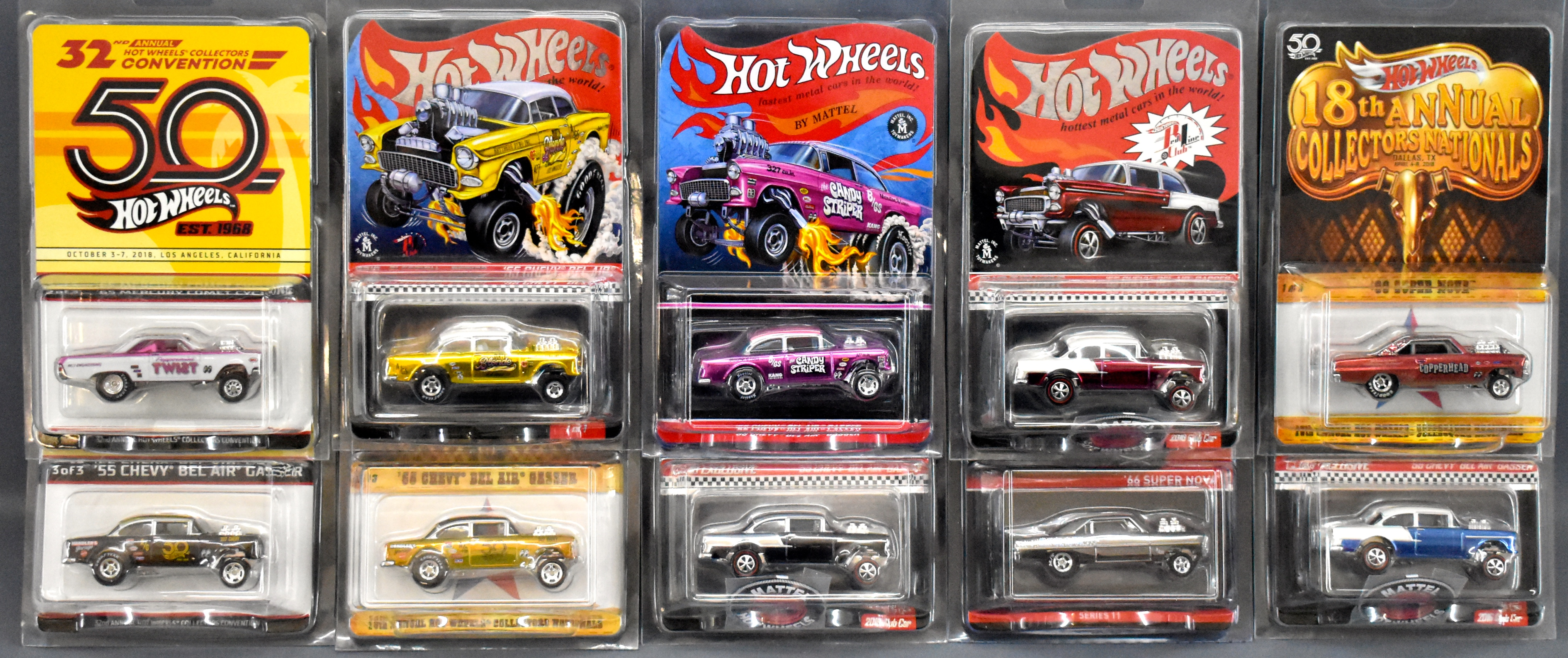 Hot Wheels Redline Club Cars Plus Childhood Comic Collection