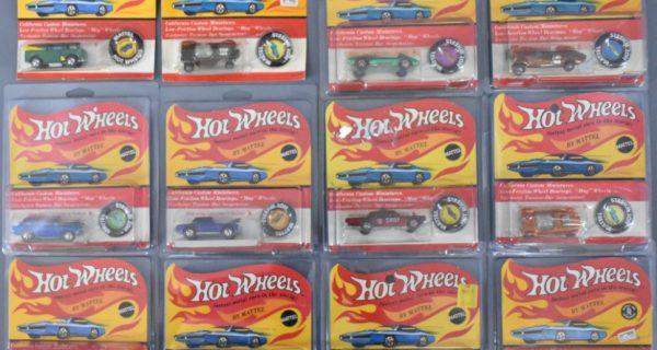Redline, Blackwall And Modern Hot Wheels Plus Topper Johnny Lightning And Model Kits