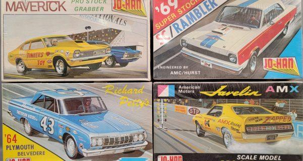 Vintage Promo Cars, Model Kits And Matchbox Cars