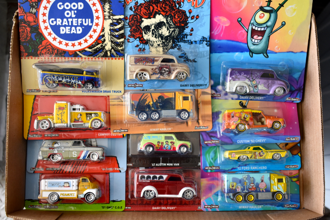 Onsite Only Die Cast, Comic Books And Toys NO INTERNET BIDDING