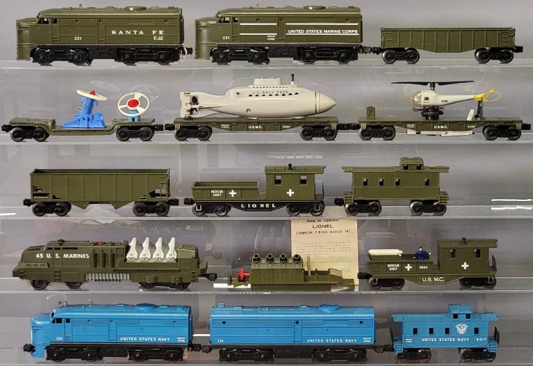 Impressive Lionel Postwar And Prewar Trains And Accessories